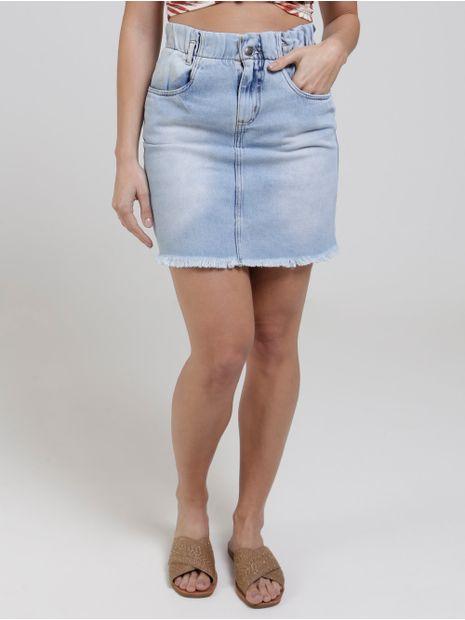 Saia-Curta-Jeans-Clochard-Feminina-Azul