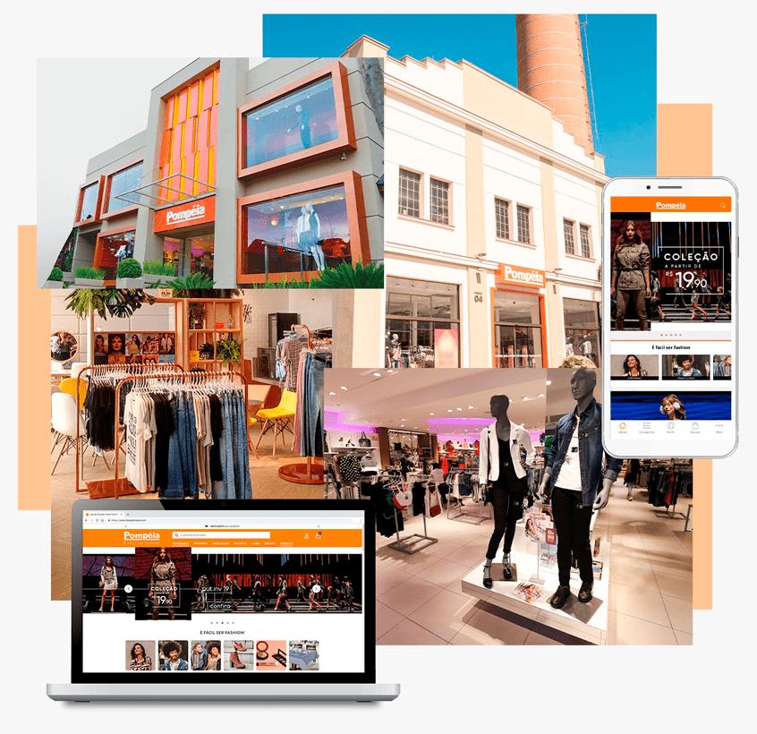 """526b255d6 ... em todo o Brasil através de sua loja online e app. Com o conceito """"É  fácil ser fashion"""""""