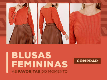 As Blusas favoritas do momento. Confira